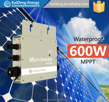 Grid tied solar kit for home and business including solar micro inverter,panel and connector for whole solar power system