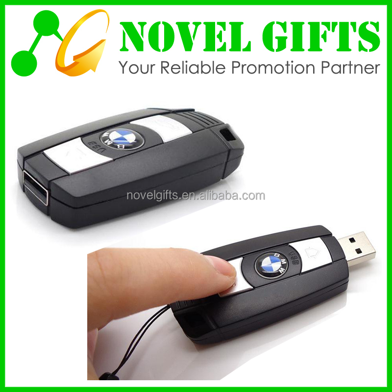 Car Promotion Car Key Shape USB Flash Drive Memory Disk