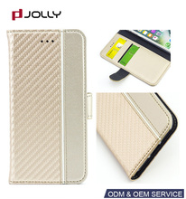 Fast Delivery leather phone case for iphone 6, carbon fiber cell phone case