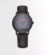 Vogue uniform wares minimal leather watches mens leather watch with japanese movement