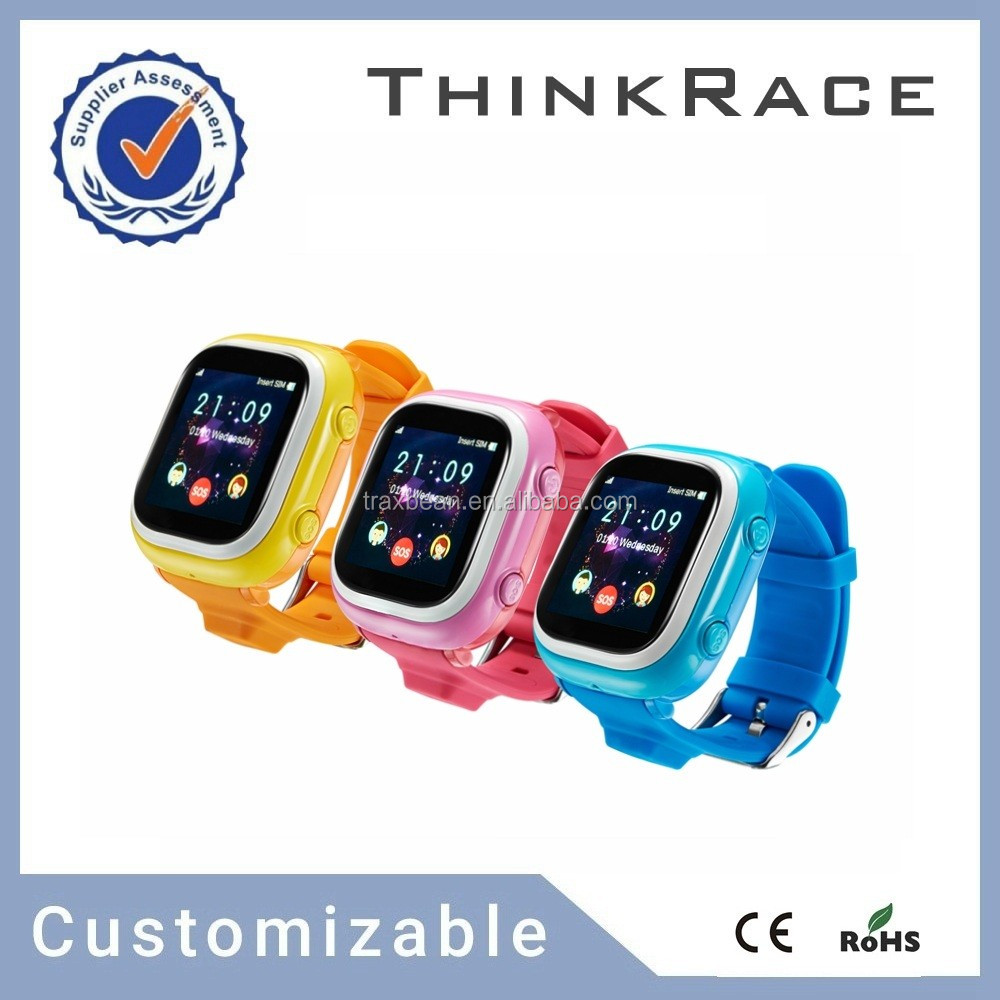 gps tracker bracelet mobile watch phone with pedometer and WIFI positioning