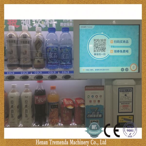 TREMENDA cell phone vending machine winning most customers