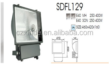 250w 400w metal halide hps lamp solar floodlight for solar garden lamp