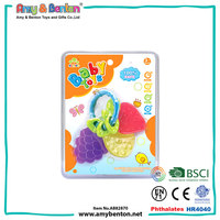 Hot sales high quality cute non toxic funny baby teether