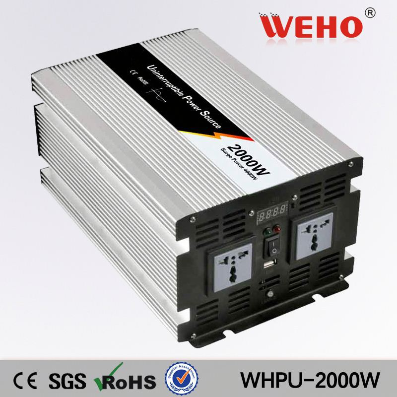 Factory directly selling 2000w 110v 24v power inverter inductive load with charger