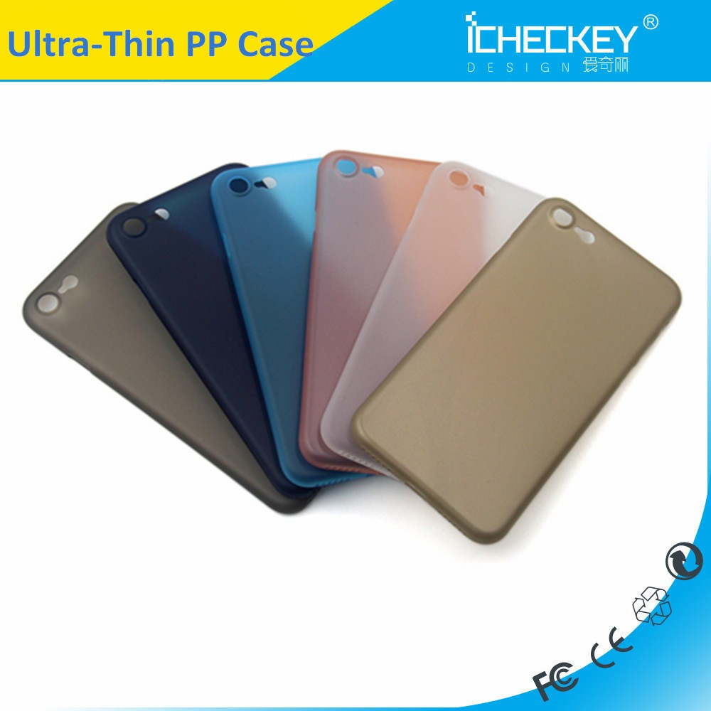 abundant color,high quality ,clear PP case for iphone