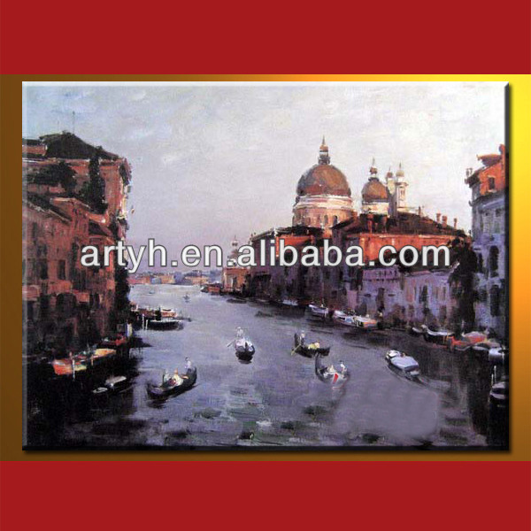 Venice Italy Oil Painting For Decor