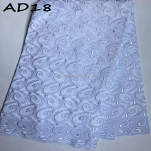 Unique Design 100% Cotton Swiss Lace Fabric For Men/Swiss Voile Lace/ Swiss Lace Fabric African AD18