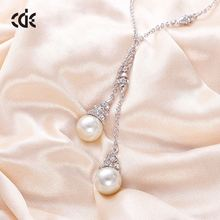 China Factory Price Stylish Costume Pearl Necklace