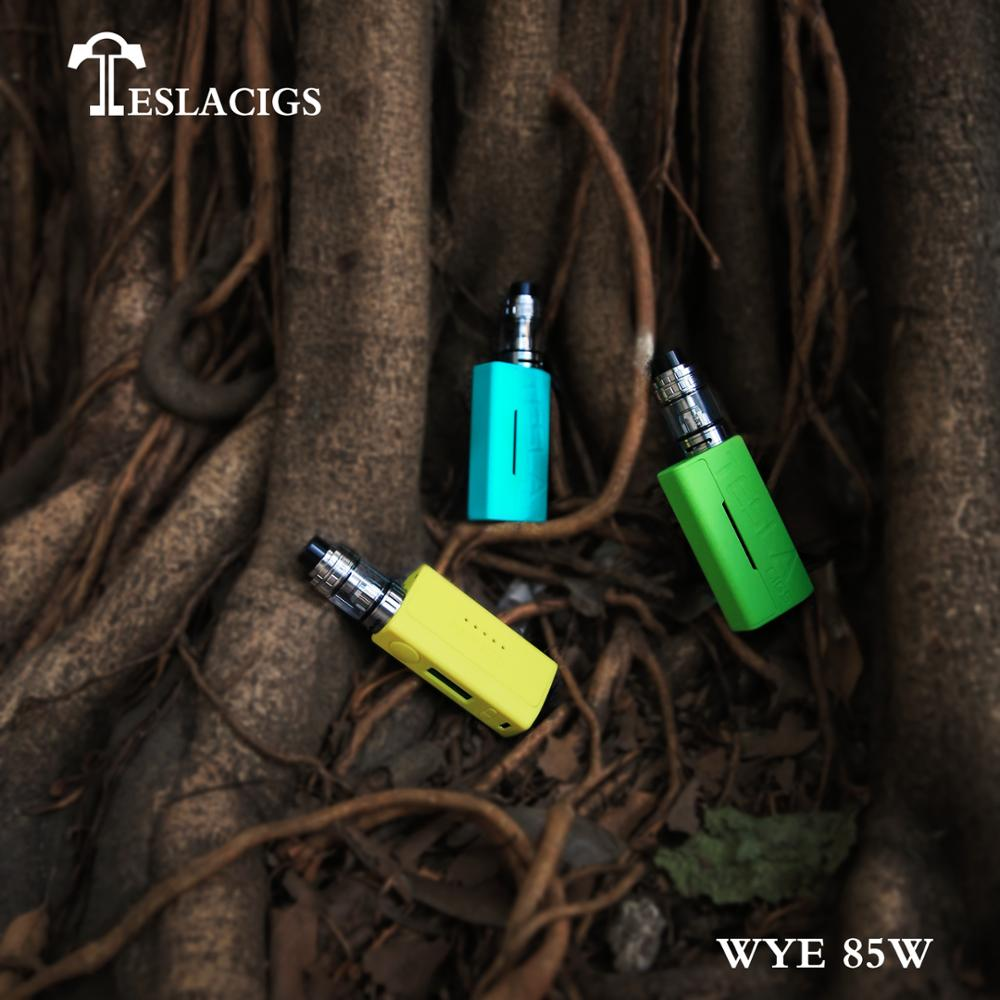 2018 Newest products WYE 85W kit from Teslacigs manufacturer