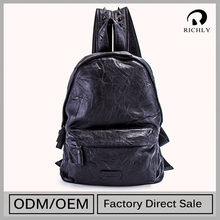 Top Grade Customizable Backpack Bag School Leather