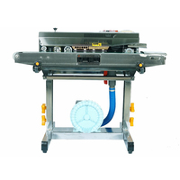FRQM-980C Continuous plastic film sealing machine with air-filling