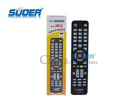 Suoer Best Quality LCD TV Remote Control Universal LCD TV Remote Control Intelligent TV Remote Control with CE&ROHS