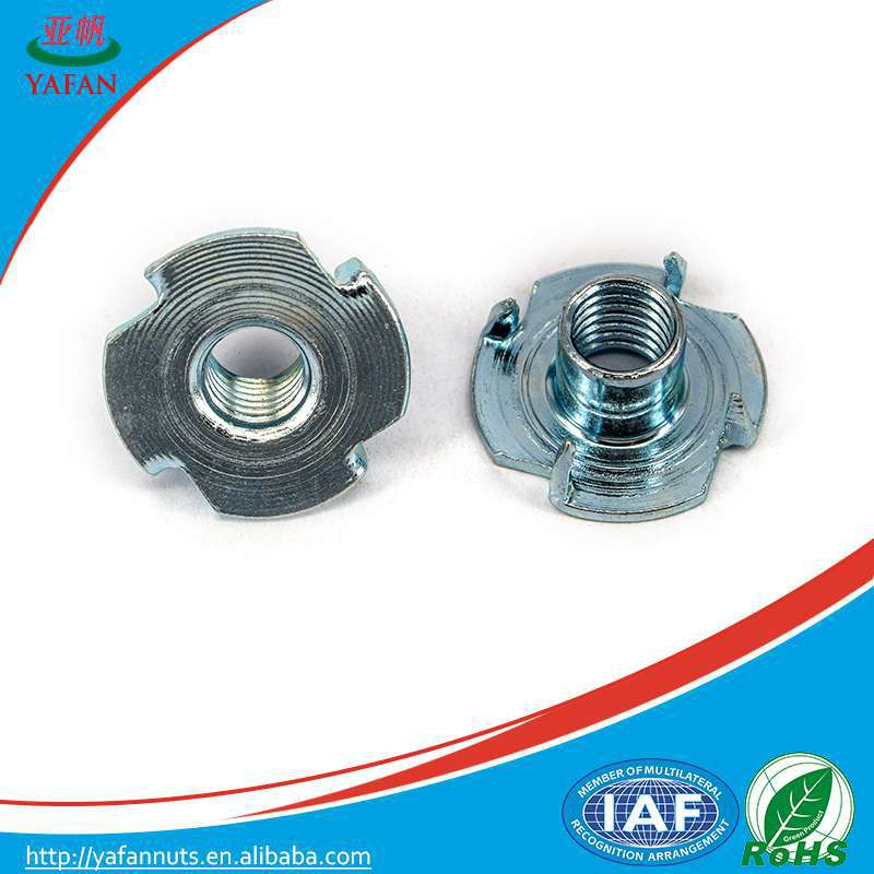 tee nuts M6 furniture cam back fasten