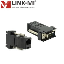 LM-VR01 Small VGA to UTP Video Converter For Decoration Engineering Company Wiring Solution