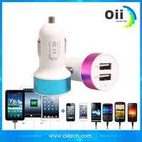5V 2A 10W multi usb port Car charger for tablet pc and smart phone with