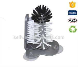 Kitchen brush cleaner, PET bristle cup brush