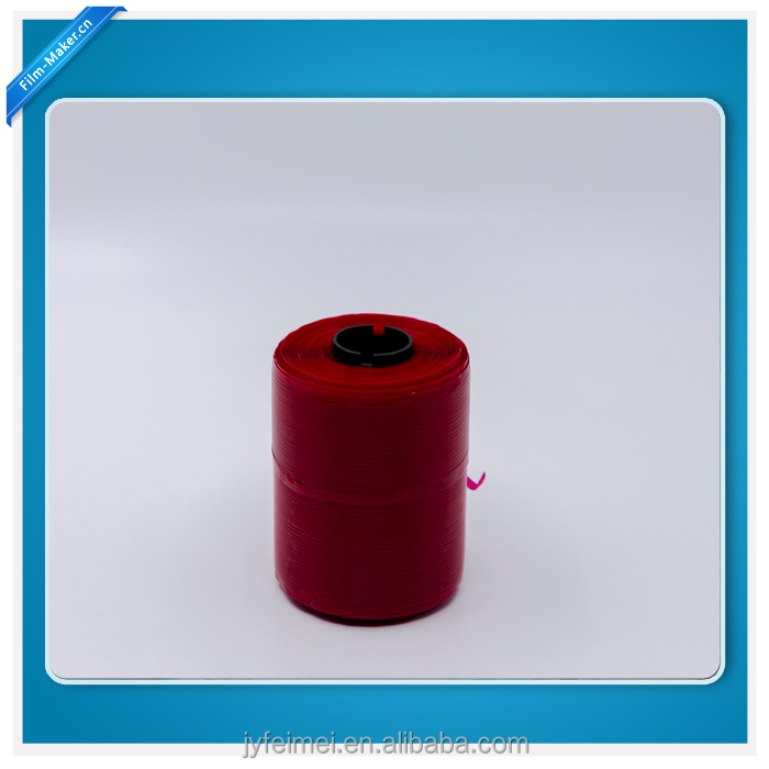 Full Red Color Tear Tape For Cigarette Overwraps