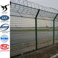 Hot Dipped Zinc Plating Welded Wire Mesh Fence Panels In 6 Gauge