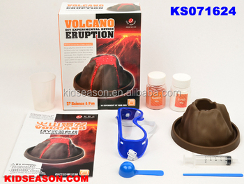 KIDSEASON EDUCATIONAL SCIENCE TOYS DIY EXPERIMENTAL DEVICE VOLCANO ERUPTION