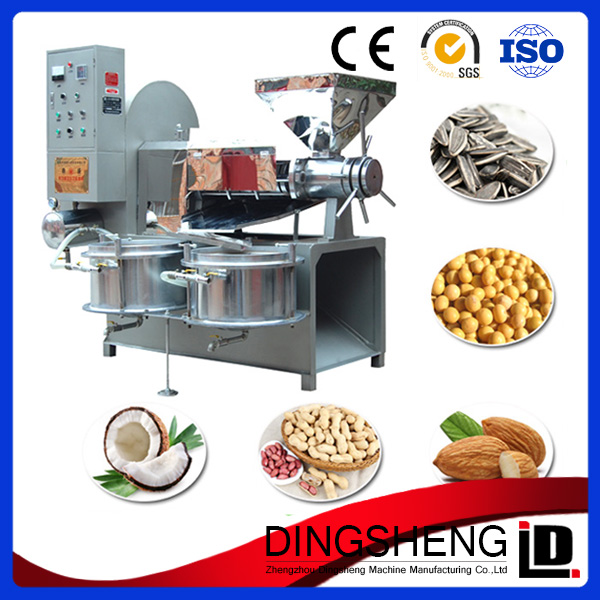 High output groundnut/soybean/sunflower seed/peanut oil press machine