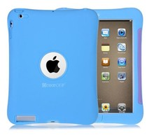 New design colorful tablet case tpu cover silicone case for ipad 4