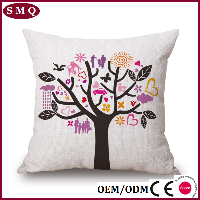 wholesale printing suzani bamboo chair cushion cover