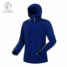China Factory Winter Lady Women's High Quality Navy Outdoor Waterproof DWR <strong>Sports</strong> and Outdoor Camping &amp; Hiking Outerwear