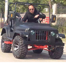 Wholesale China gas powered vehicles mini jeep 4X4 for kids for sale