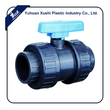 Plastic irrigation PVC double Union Ball Valve