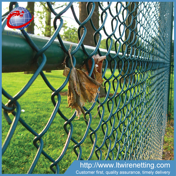 4 ft 5 ft plastic coated temporary chain link fence