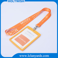 New design different color hard plastic id card holder
