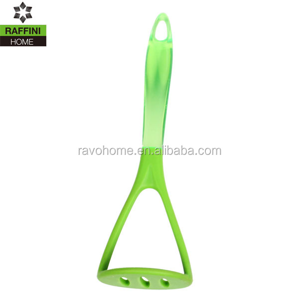 Cheap Price Kitchen Utensil Silicone Potato Masher