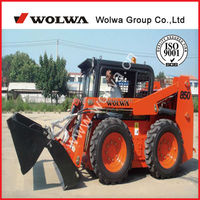 GN850 skid steer loader low price with 850kg loading weight