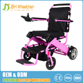 FDA and CE standard aluminum alloy folding electric wheelchair light weight travellin