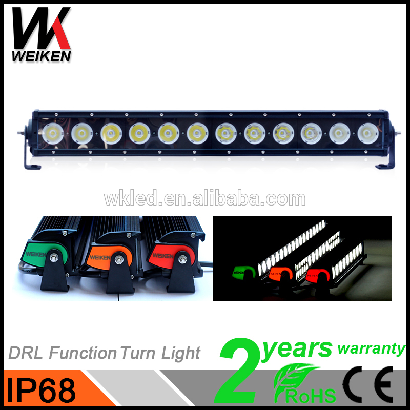 WEIKEN C ree Bluetooth Control led light bar 120w 300w 288w 180w car led light bar JP/SUV/ATV/Car