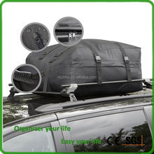 Water Resistant Car cargo luggage roof Top Carrier bag, Easy to Install Ample Storage Space Folds Easily Best for Traveling