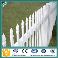 Short Fence Spear Point Wrought Iron Decorative Mesh