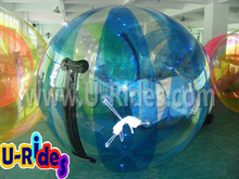 Hot Selling Colorful Sticky Smash Inflatable Water Ball