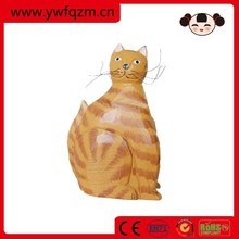arts and crafts items,animal wood carving crafts,wood carving cat