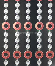 Event Crystal Plastic Window Plastic Bead Garland