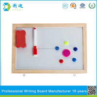 Lanxi xindi wood frame children writing board with magnets education for schools