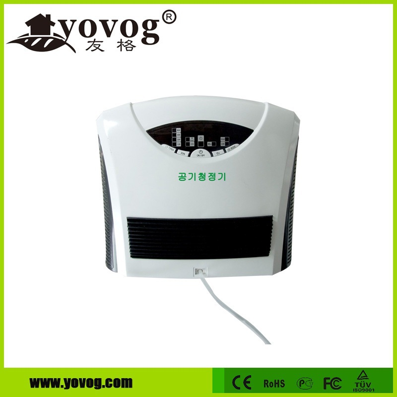 Customizer activated carbon HEPA filtration ozone generator air purifier for hotel