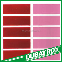 Good price chemical powder decorative coating red 57:1