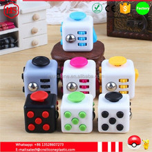 China manufacture Factory price 3.3cm Fidget Cube Children Desk Toy Fidget Cube Adults funny Stress Relief Toys magical cube
