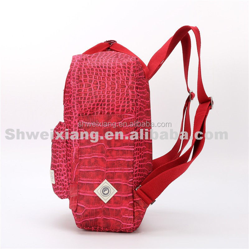 Promotional korean style pack back bag wholesale Hot Style School Canvas backpack