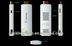 Hot selling Measy U1A Mini Android TV Dongle 4.0 ICS Allwinner A10