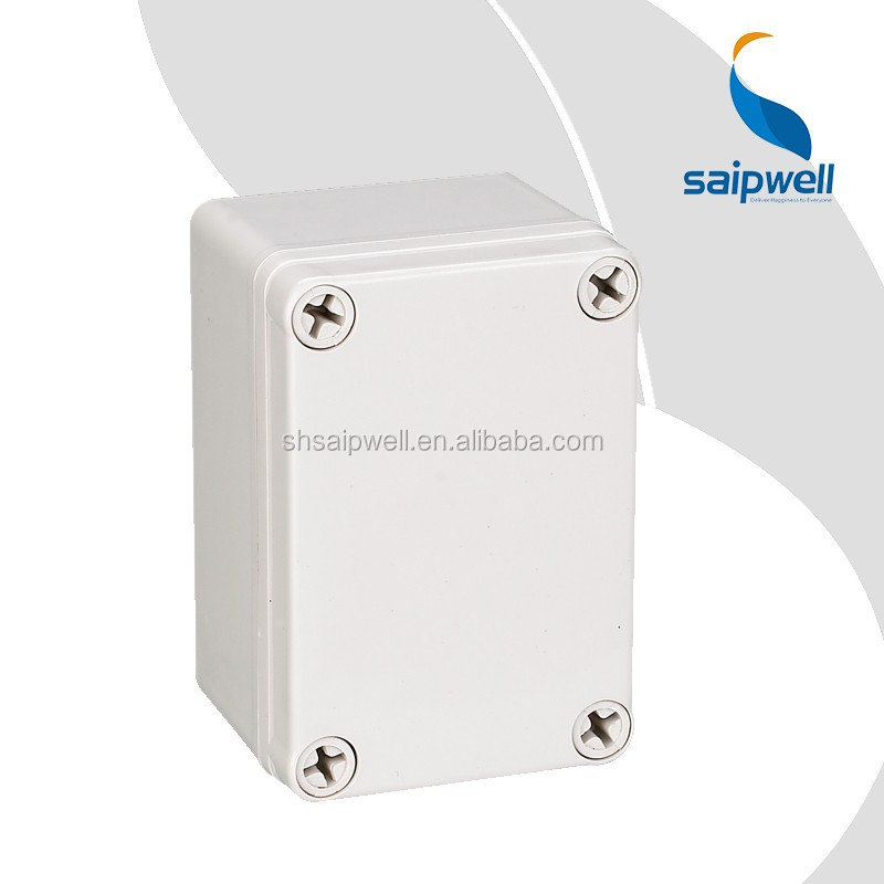 IP66 plastic enclosure, wall mounted outdoor and waterproof electrical box