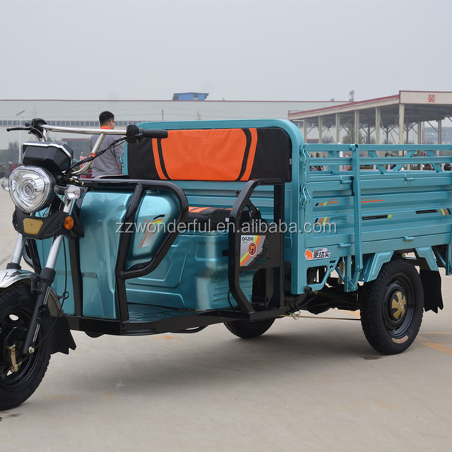 Factory Price Electric Three-wheeled Bikes for Adults Electric Cargo Tricycle for Sale