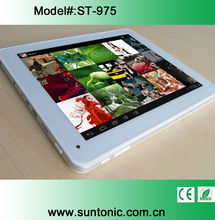 9.7 inches quad core Google Android4.1 IPS Retina 2048*1536 tablet pc